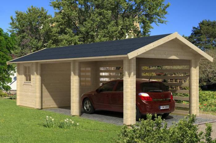 garage noah 27 m 73095 kr. Black Bedroom Furniture Sets. Home Design Ideas