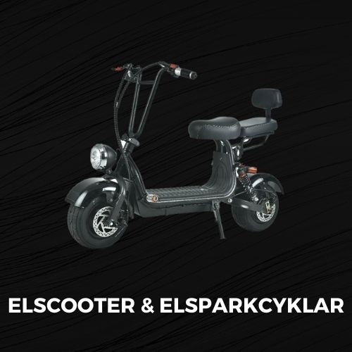 Black Friday Elscooter & elsparkcykel