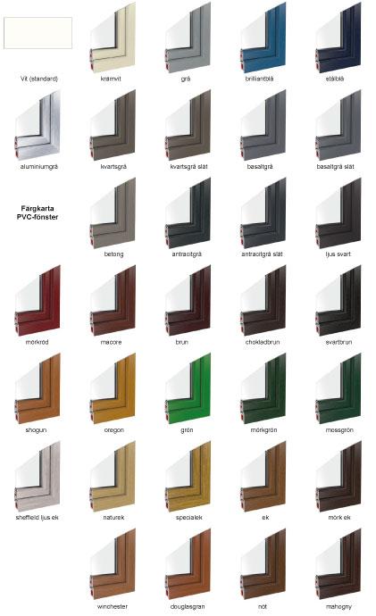 färgkarta pvc-fönster