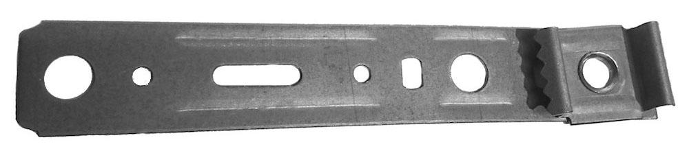 Monteringsbeslag för PVC